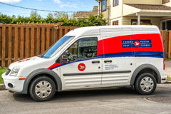 Canada Post Vehicle Stock Images