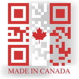Canada QR Royalty Free Stock Image