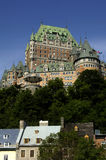 Canada, Quebec, Frontenac castle Stock Photography