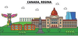 Canada, Regina. City skyline architecture  Editable Royalty Free Stock Photos