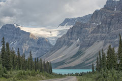 Canada Rocky Mountains Panorama Stock Photo