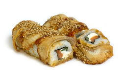 Canada roll. Some kind of sushi rolls Royalty Free Stock Photo
