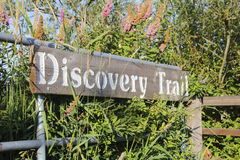 Canada's Discovery Trail Sign Royalty Free Stock Photography
