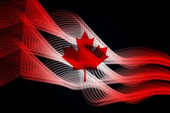 Canada`s national flag vector illustration