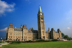 Canada's National Parliament royalty free stock photography