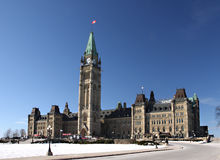 Canada's Parliament Royalty Free Stock Images