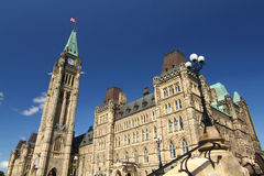Canada's parliament hill Stock Photo
