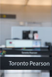 Canada's Pearson International Airport Stock Photo