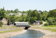 Canada`s St. Martins Village Stock Images