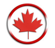 Canada shield for olympics Stock Photos