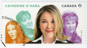 CANADA - 2014: shows Catherine Anne O`Hara born 1954, actress, series Great Canadian Comedians Stock Photos