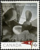 CANADA - 2012: shows Titanic, White Star Line, Titanic Centenary 1912-2012. CANADA - CIRCA 2012: A stamp printed in Canada shows Titanic, White Star Line stock images