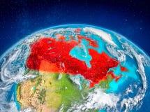 Canada sur terre Photographie stock libre de droits