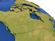Canada sur terre Photos stock