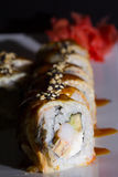 Canada sushi roll Royalty Free Stock Images