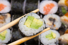 Canada sushi roll Stock Image
