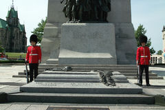 Canada Tomb of the Unknown Soldier Stock Images