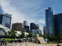 Canada Toronto modern. Day time sun Royalty Free Stock Images