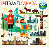 Canada Travel Collection Stock Photo