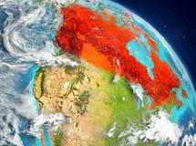 Canada van baan vector illustratie