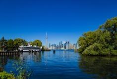 Canada 150! Van het Eilandontario van Toronto de zomertijd Stock Afbeelding