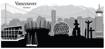 canada Vancouver Ilustracji