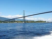Canada Vancouver bridge Stock Images