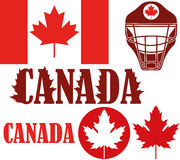 Canada. Vector illustration (EPS 10 Royalty Free Stock Photography