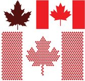 Canada. Vector illustration (EPS 10 Royalty Free Stock Image