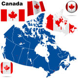 Canada vector set. Stock Image