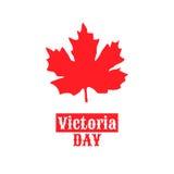 Canada Victoria Day, le 22 mai illustration libre de droits