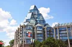 canada w centrum galerii obywatel Ottawa Obrazy Royalty Free