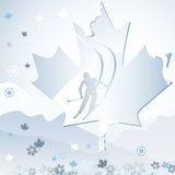 Canada Winter Games. Canada Vancouver Winter Games 2010 Vector Illustration