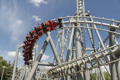 Canada wonderland coaster royalty free stock photography