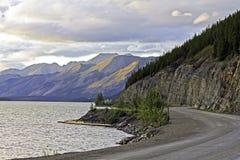 Canada, Yukon Territory. Alaska Highway in Canada, Yukon Territory Royalty Free Stock Photos