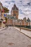 canada zamku miasto Quebec frontenac Zdjęcia Stock