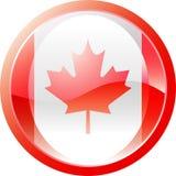 Canadabutton Stock Photo