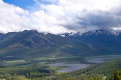 Canadaian steniga berg Fotografering för Bildbyråer