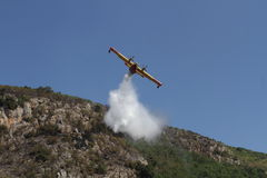 Canadair Photographie stock