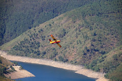 Canadair aircraft Royalty Free Stock Images