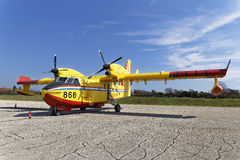 Canadair bombardier Stock Images