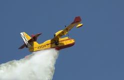 Firefighting Aircraft - Spain stock photos