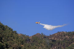 Canadair plane to fire Royalty Free Stock Photo
