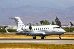 Canadair pretendent 605 Zdjęcia Royalty Free