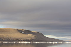Canadan Landscape. Beechey Island where John Franklin spent a winter while on his disastrous Northwest Passage expedition during the 19th century - Nunavut Royalty Free Stock Images