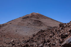 canadas canary del islands las西班牙teide tenerife谷火山 库存图片