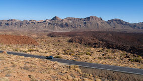 Canadas del Teide Stock Photography