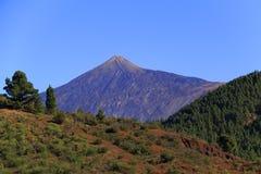 canadas Kanarka Del Wyspa las Spain teide Tenerife doliny wulkan Zdjęcie Stock