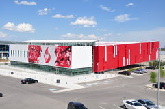 Canadaâs Sports Hall of Fame Stockfotos