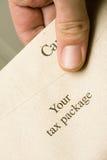 Canadees belastingspakket Stock Foto's